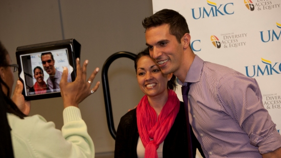 Me and Ari Shapiro at UMKC
